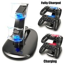 Led Dual Controller Charger Dock Station Stand Charging For PS4 Playstation L3