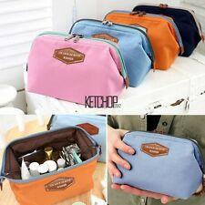 Portable Travel Cosmetic Bag Durable Multifunction Makeup Pouch Toiletry Case