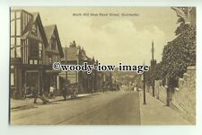 tp9433 - Essex - View down North Hill from Head Street, in Colchester - postcard
