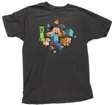 Minecraft Running Person T-shirt Anime Licensed NEW