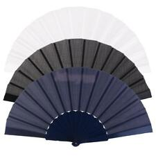 Folding Hand Fan Wedding Fancy Costume Party Burlesque Decoration Favors Gift