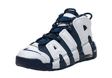 Kids Nike Air More Uptempo Navy Blue White Scottie Pippen Olympic Red 415082 104