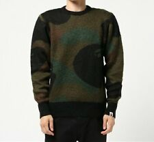 A BATHING APE BAPE MOHAIR KNIT BAPE Original Mens Sweater Warm Jumper From Japan