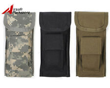 ROGISI 1000D Tacitcal Military Molle Belt Utility Tools Pouch Flashlight Holster