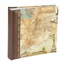 Classic Old World Map Series Slip in Type/ Self Adhesive Albums-200 Photo/2 Size