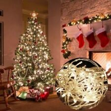 Warm White 20-500 LED Fairy String Lights Battery Christmas Outdoor Tree Party