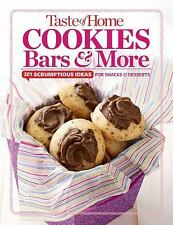 Taste of Home Cookies, Bars & More NHB 201 delectable treats Christmas/Holiday