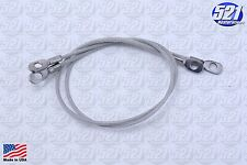 "Mopar Hood Pin 13"" Lanyard Cable Cables Pair 70 71 72 Plymouth Duster Scamp"