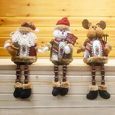 Lovely Santa Claus/Snowman/Reindeer Shape Doll Christmas Tree Decoration Hanging