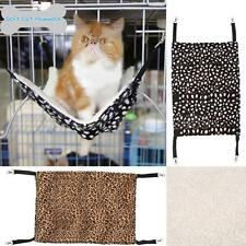 Soft Cat Hammock Ferret Kitten Pet Cage Chair Hanging Bed Warm Plush Wool V3O8