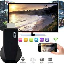 NEW Miracast Wifi Display HDMI 1080P TV Dongle Receiver Fits Smartphone Laptop F