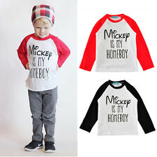 brand kids boys t shirt long sleeve homeboy cotton toddler baby autumn tee tops