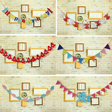 """110"""" Bunting Banner Pennant Hanging Flag Adornment Christmas/Birthday Party Deco"""