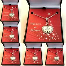 Christmas Gift Necklace for Mum, Daughter, Mummy, Sister, Auntie, Nanny