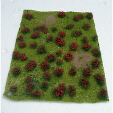 """JTT Scenery Products 95604 Flowering Meadow, Red 5x7"""" Sheet"""