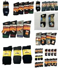 12 Pair Men Thermal Socks Winter Warm Heat Control Socks UK Size 6-11 Soft Socks
