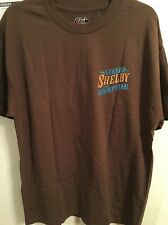 TV Show T-Shirt Legend Of Shelby Swamp Man, Brown T-shirt. Small-Large