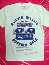 Malcolm McLaren Buffalo Gals punk hip  hop t-shirt world's famous seditionaries