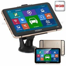 "7"" XGODY Car Truck GPS Navigator SAT NAV Navigation 16GB Lifetime Maps Speedcam"
