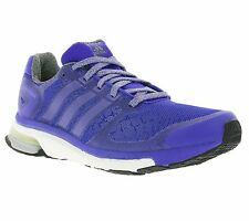 NEW adidas Performance adistar Boost W Glow Running Shoes Sports Shoes Blue