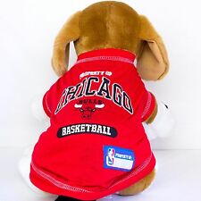 Chicago Bulls Dog Shirt NBA Basketball Officially Licensed Pet Product