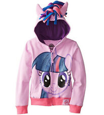 Kids Girls My Little Pony Angel Wings Zip Coat Clothes Hoodies Jacket Clothing