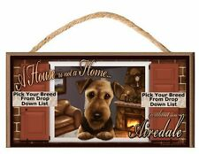 Paws on the Windowsill A House is Not A Home  (Pick Your Dog Breed) Dog Sign