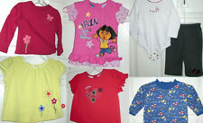 USED BABY CLOTHES Fleece Pants, Long/Short Sleeve Tee Tops 9,12,18 Month (#d-8)
