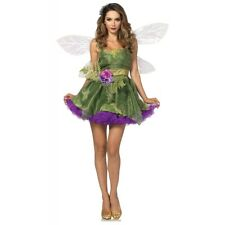 Woodland Fairy Costume Adult Halloween Fancy Dress