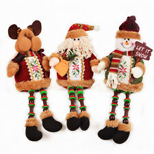 Christmas Decor Xmas Gift Kids Toy Santa Claus/ Snowman/ Reindeer Doll Ornaments