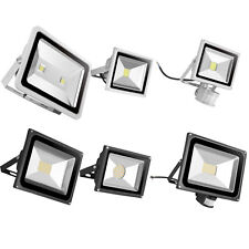 LED Floodlight 10W 20W 30W 50W 300/W SMD Motion Activated Security Flood Lights