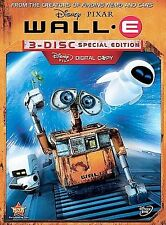 WALL-E Disney Pixar Special Edition DVD, New Sealed, 3 Disc Set