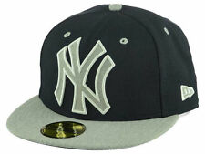 Official MLB New York Yankees Full Heather XL Logo New Era 59FIFTY Fitted Hat
