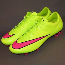 Nike Mercurial Veloce II FG Soccer Cleats MENS Sizes 10, 11.5 Volt/Pink
