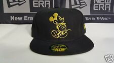 Disney Mickey Mouse New Era Cap Black/Gold NEW RARE
