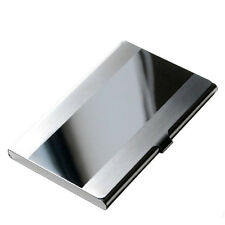 Stainless Steel Pocket Name Credit ID Business Card Holder Box Metal Case HS