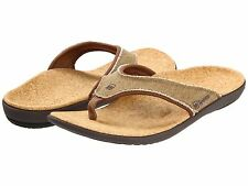 Spenco Polysorb Total Support Orthotic Sandal Flip Flop Thong Arch Support Men's