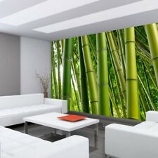 "Fleece Photo Wallpaper ""Paradise of Bamboo"" ! Bamboo Forest Jungle"
