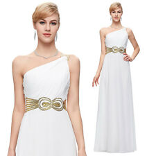 One Shoulder Long Evening Party Ball Prom Gown Formal Bridesmaids Cocktail Dress