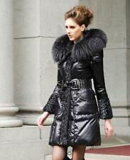 Luxury Womens Fur Duck Down Long Jacket Thick Coats Parkas Hot Fashion New Hot