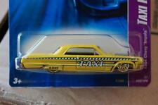 HOT WHEELS '64 CHEVY IMPALA 2007 TAXI RODS MAINLINE H3b