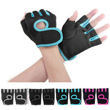 Weight Lifting Gloves NEOPRENE Gym Training Body Building Fitness Straps EFC