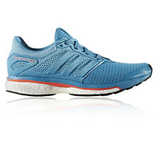 Adidas Supernova Glide 8 Womens Blue Sneakers Running Road Shoes Trainers