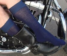 2 Pairs of Boot Socks - for Motorcycle & cowboy Boots   M/L or L/XL