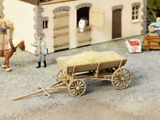 Noch 14242 HO Horse-Drawn Farm Wagon Kit