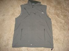 COLUMBIA OMNI-SHADE SUN PROTECTION WOMEN'S TECHNICAL HIKING VEST SIZE XL