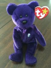 Ty Beanie Baby Princess Diana of Wales ~ 1997 Bear ~Authentic ORIGINAL RETIRED