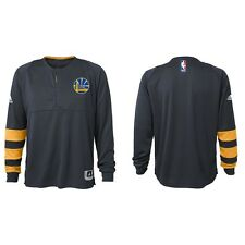 Golden State Warriors Youth On Court Long Sleeve Shooter Top - Gray