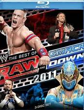 WWE: Raw and Smackdown - The Best of 2011 (Blu-ray 3-Disc Set) New & Sealed