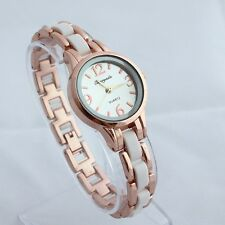 Fashion Women's Ladies Watches Crystal Stainless Steel Quartz Wristwatch O85